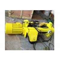 Heavy Duty Winch Hoist Lifting Tools / 3 Phase Stainless Steel Wire Rope Hoist Manufactures