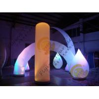 Quality Advertising Inflatable Arch Balloon Led Lighting For Festival Decoration for sale