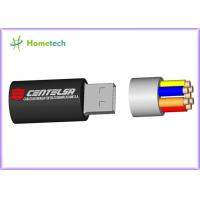 Cartoon USB Flash Drive / 3D Cable Cartoon USB Flash Drive for full capacity , cheaper price Manufactures