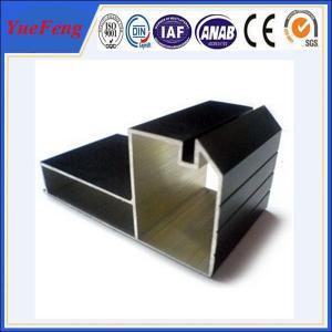 cheap aluminum profiles factory, Black Anodized aluminium profile for furniture Manufactures
