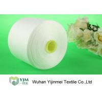 AAA Brand Polyester Spun Yarn Z Twist Bright On Plastic or Paper Cone for sale