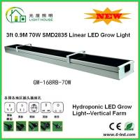 Quality 3 Feet Hanging Hydroponic Led Grow Light For Growing Plants 70 Watt Power for sale