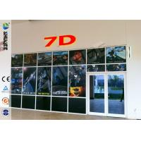 Luxurious Decoration 7d Simulator Cinema With HD Projectors Professional Audio Manufactures