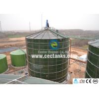 For Liquids Glass Fused Steel Tanks Hardness 6.0 Mohs Quick Installation Manufactures