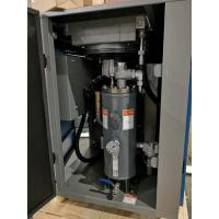 Industrial Rotary Screw Air Compressor With Microprocessor Control Panel Manufactures