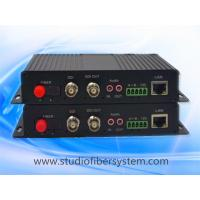 Buy cheap 2CH multifunctional SDI fiber optical converter for 2CH SDI&Bidirectional audio&Ethernet&RS232/485/422 over fiber from wholesalers