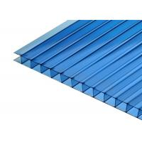 Colored Skylight Roofing Greenhouse Polycarbonate Hollow Sheets Manufactures