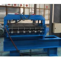 0.3 - 0.8mm Thickness Curving Machine Hydraulic 7.5KW Roofing Sheet Forming Machine Manufactures
