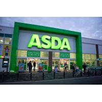 China 3D LED Front-lit Painted Brushed Metal Aluminum Letter Signs For ASDA on sale
