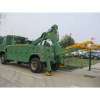 8 ton medium duty integrated tow truck road recovery wrecker Manufactures