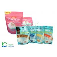 China Recyclable Pet Food / Animal Feed Packaging , Solvent-Less Lamination on sale