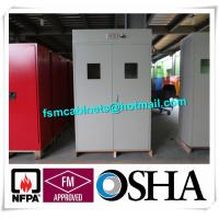 Flammable Industrial Safety Cabinet For Cylinder Storage , Cylinder Safety Storage Cabinet Manufactures