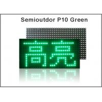 P10 led module semi-outdoor 32X16 pixel dot 1/4 scan for led screen p10,led p10 modules Green color p10 led panel Manufactures