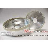 Quality 6 inches High cutting action 6A2 vitrified diamond grinding wheel for PCD  -julia@moresuperhard.com for sale