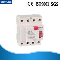 Magnetic A Type 4 Pole  RCCB Circuit Breaker ,STS  230V  Mini Circuit Breaker  Manufactures