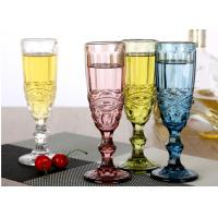 Champagne Wine Solid Glass Products Wedding Party Yellow Blue Capacity 150ml Manufactures