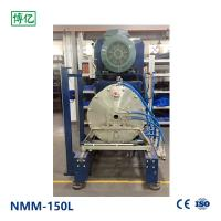 Blue Horizontal Nano Grinding Mill High Energy Efficiency Operating Easily Manufactures