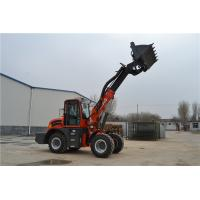 Quality WY2500 earth machinery 4WD  telescopic loader with lawn mower for sale