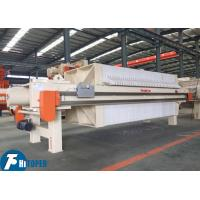 1479L Industrial Filter Press Leather Tannery Sewage Wastewater Treatment Manufactures