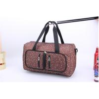 Competitive Price Large capacity travel bags for women with leopard print Manufactures