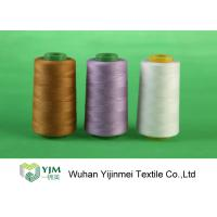 Bright Colored Polyester Core Spun Thread for Sewing Machine Abrasion Resistance Manufactures