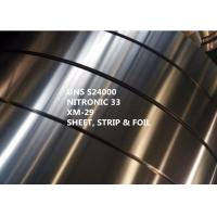 Quality Stainless Steel Nitronic 33 Special Alloys For Medical With Yield Strength 469MPa for sale