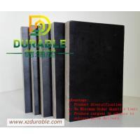 China China Cheap price plywood  15mm black film faced plywood 4*8/5*10 standard size Durable Solid Plywood For Europe Market on sale