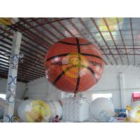 Quality Fire Proof Sporting Inflatable Basketball Giant EN71 With Helium for sale