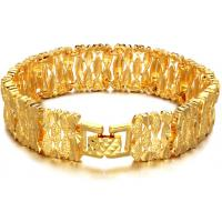 Drjobson fashion jewelry 18K Gold plated stainless steel bracelet -BR30 Manufactures