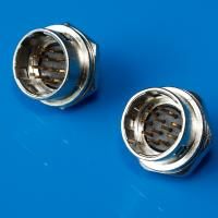 Male Socket Hirose Hr10 Circular Connector Video Cable Connectors With Push Pull Self Locking Manufactures