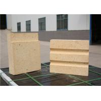 Light Yellow Color High Temperature Bricks Calcined Bauxite Raw Materials Manufactures
