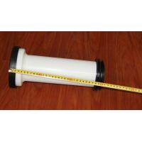 Quality Straight Toilet Drain Pipe Small Friction Resistance Black And White Combination for sale