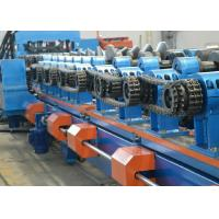 Galvanized Steel Sheet CZ Purlin Roll Forming Machine 8-12m / Min Production Capacity Manufactures