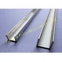 China Stainless Steel / Aluminum U Channel , Cold Roll Formed Metal C Channel wholesale