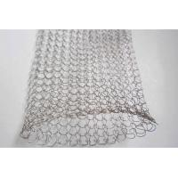 1 / 2 Strands 0.08mm Stainless Steel Knitted Wire Mesh For Tools ISO SGS Listed Manufactures