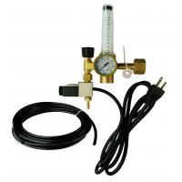 High Flow Hydroponic Accessories Greenhouse Solenoid CO2 Regulator With Heater