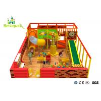 Construction Site Kids Indoor Playground For Commercial Center Manufactures
