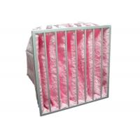 Reusable Multi Pocket Air Conditioning Ventilation Air Filter Synthetic Fiber Glass Fiber Manufactures