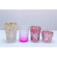 China different size mercury votive candle holder, tea light candle holder cheap on sale
