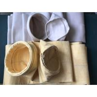 Non woven needle punched Nomex dust filter bag DN 150x2450mm special used in asphalt mixing plant bag filter Manufactures