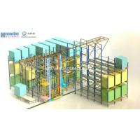 ASRS Solution Shuttle Racking System Stacker Crane Combined With Shuttle Manufactures