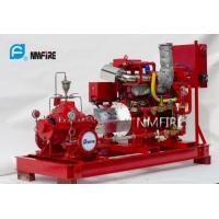 Ul Listed 750usGPM@160PSI Diesel  Engine Driven Fire Pump Set with Jockey Pump Manufactures