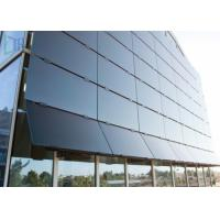 Aluminium Alloy Residential Curtain Wall , 3.0mm Thickness Commercial Curtain Wall Manufactures