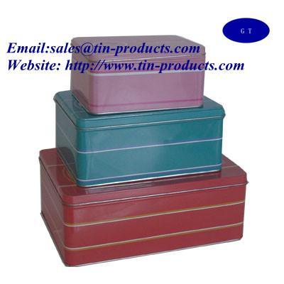 Quality Metal set , gift set  ,Gift box set, metal  case set, metal box  set, Christmas  Box, cake Box, from Goldentinbox.com for sale