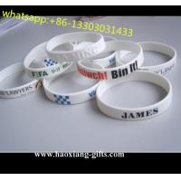 factory cheap custom different kinds of silicon wristband/bracelets from china Manufactures