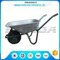 Tubular Steel Axle Heavy Duty Galvanised Wheelbarrow 5CBF Sand Capacity Wb6414t Manufactures