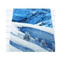 Travel Cotton Beach Towels Promotional Printed 80cm*140cm For Adult Manufactures