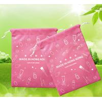 China Advertising Promotional Gift Bags , 210D Polyester Drawstring Bag on sale