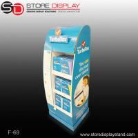kids' products corrugated cardboard display with shelves Manufactures