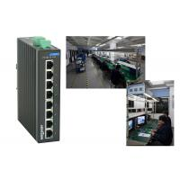 High reliablity VLAN division RJ45 8 port poe switch , 1.6Gbps industrial unmanaged ethernet switch Manufactures